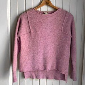 Sundance Lambswool Lilac Sweater